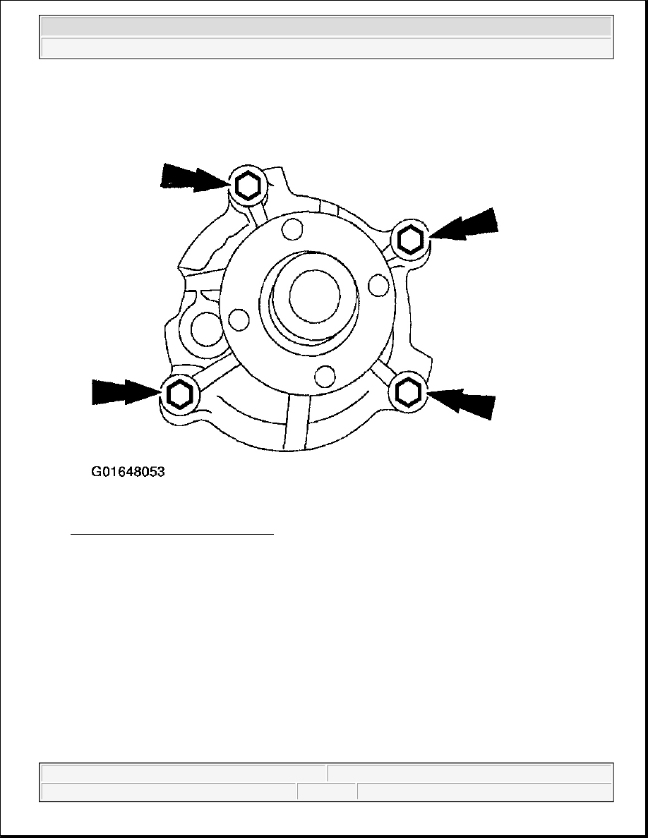 hight resolution of ford f150 water pump diagram