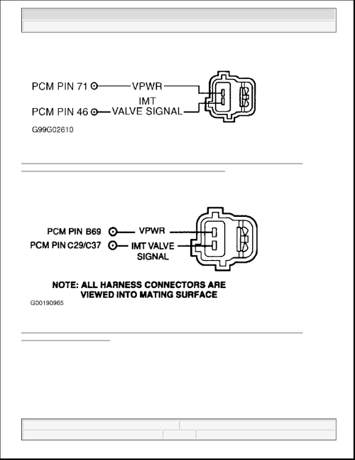 small resolution of 257 identifying intake manifold tuning valve imtv vacuum solenoid wiring harness connector terminals blackwood 5 3l econoline pickup 4 6l