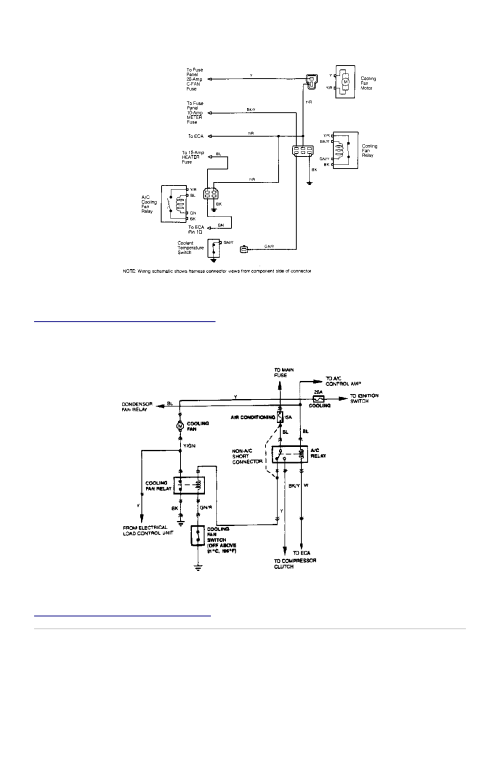 small resolution of 2 electric cooling fan wiring schematic festiva