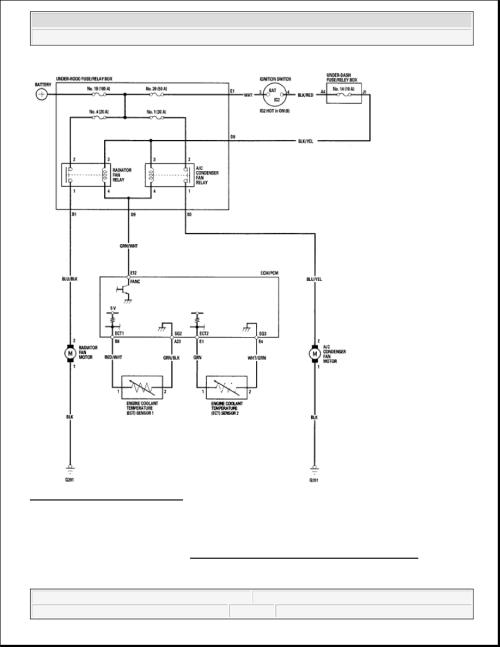 small resolution of honda element blower motor wiring diagram