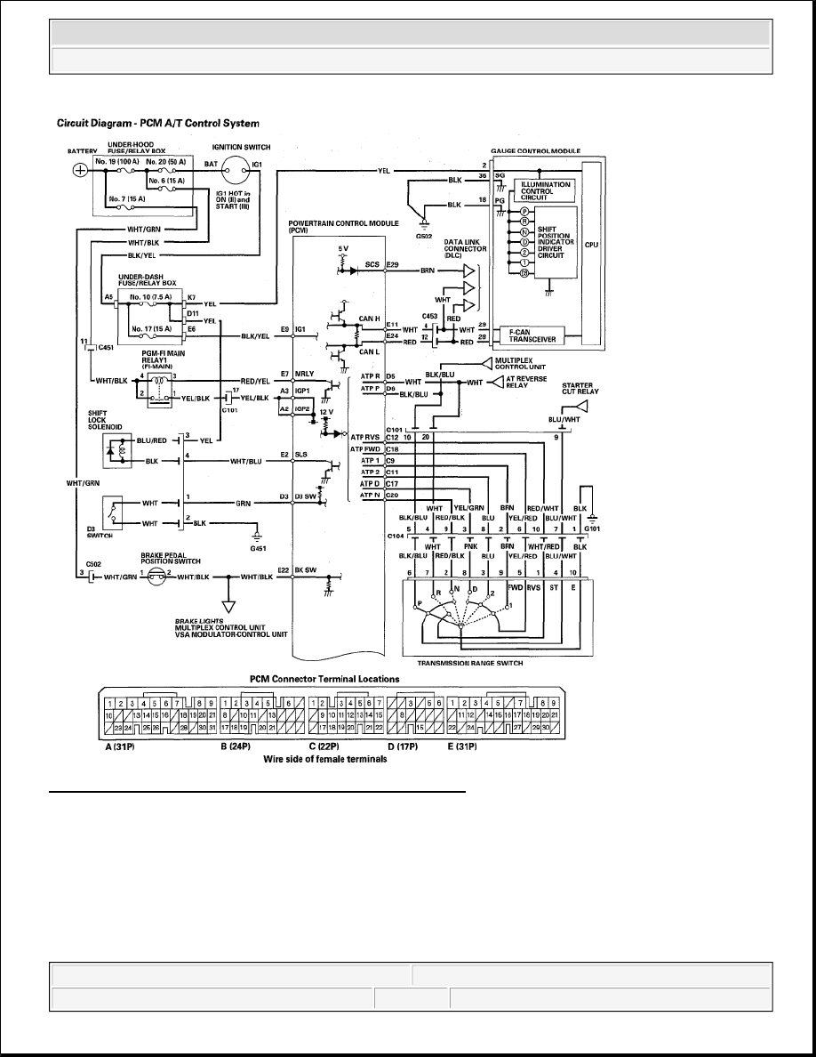 hight resolution of schematic for honda element