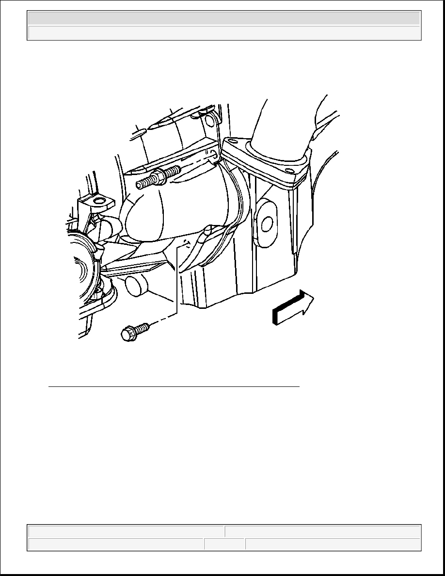 Fig 179 identifying stud bolt securing transmission to engine courtesy of general motors corp