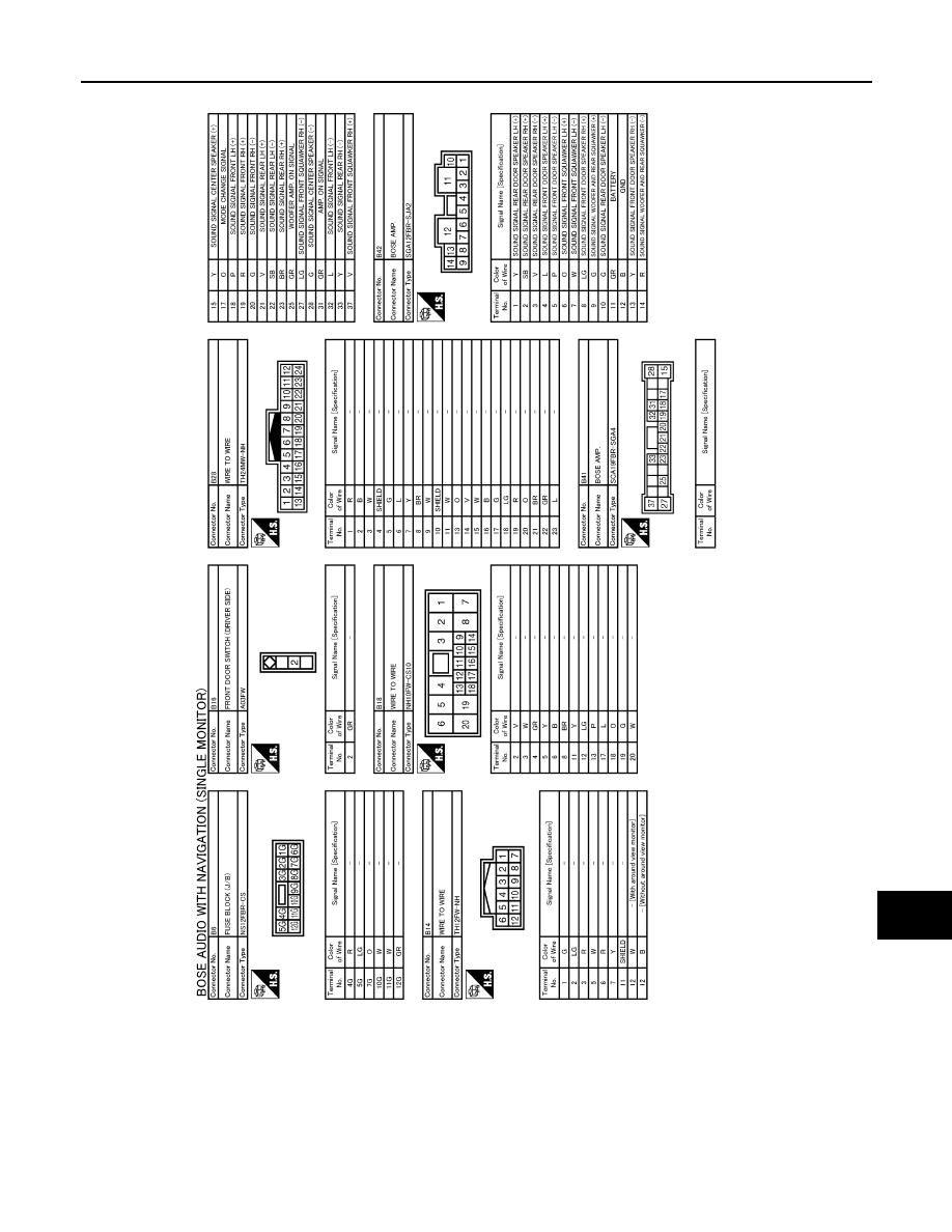 hight resolution of infiniti navigation wiring diagram