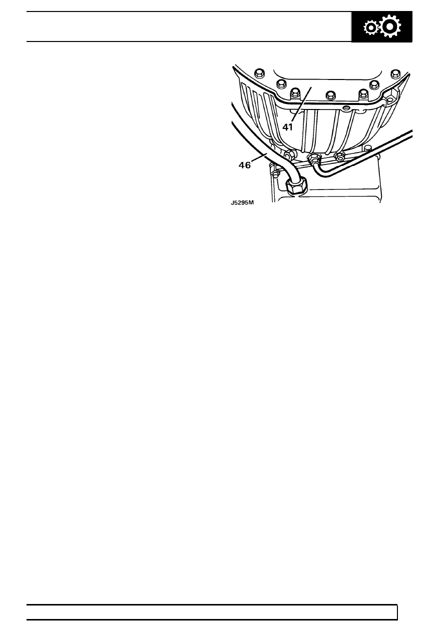 Land Rover Discovery Inhibitor Switch