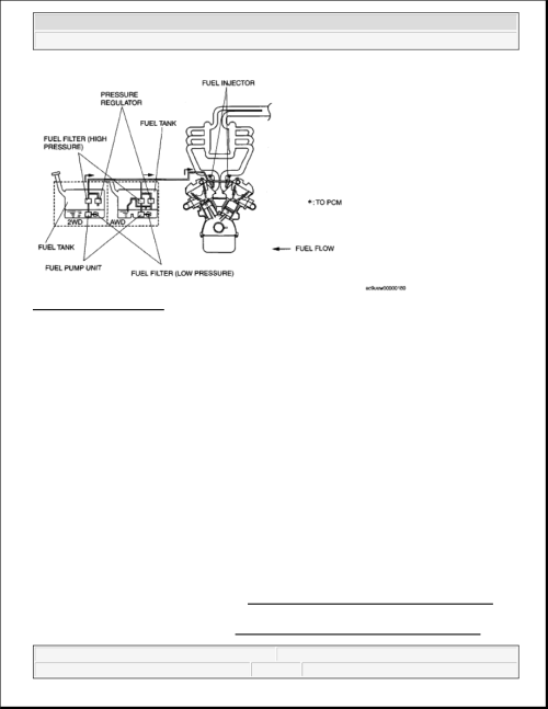 small resolution of 4 fuel system diagram courtesy of mazda motors corp