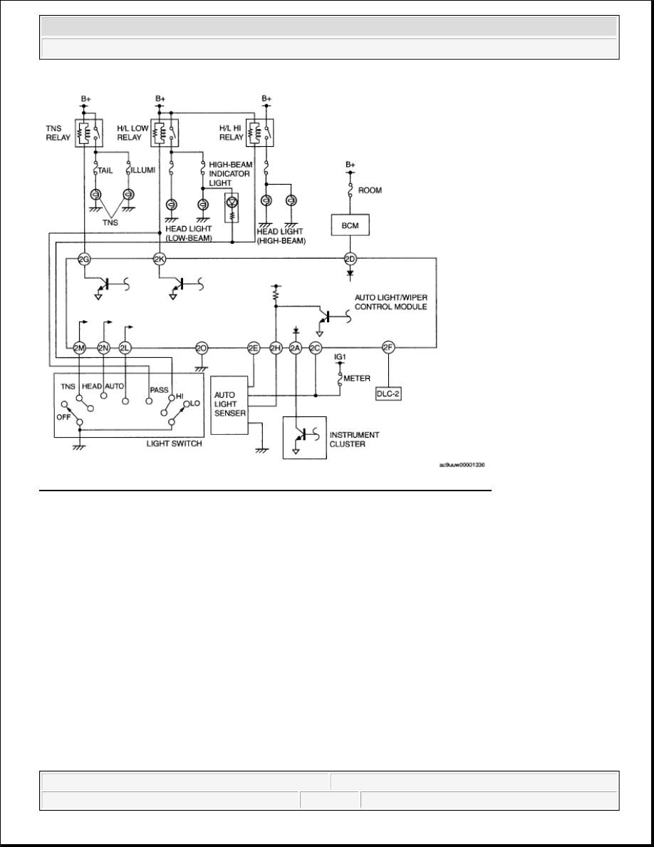medium resolution of 50 drl auto light off system vehicles without drl wiring diagram courtesy of mazda motors corp