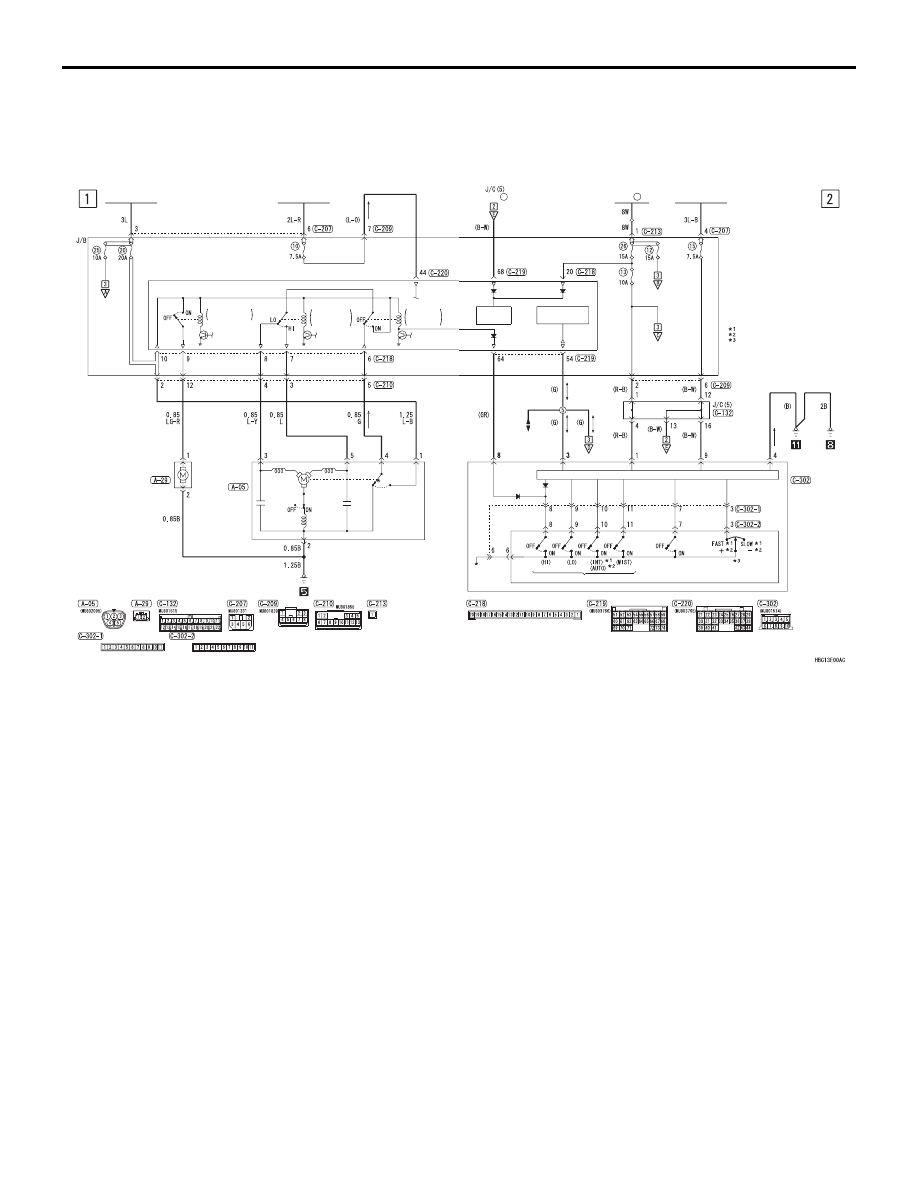 hight resolution of windshield wiper and washer circuit diagrams
