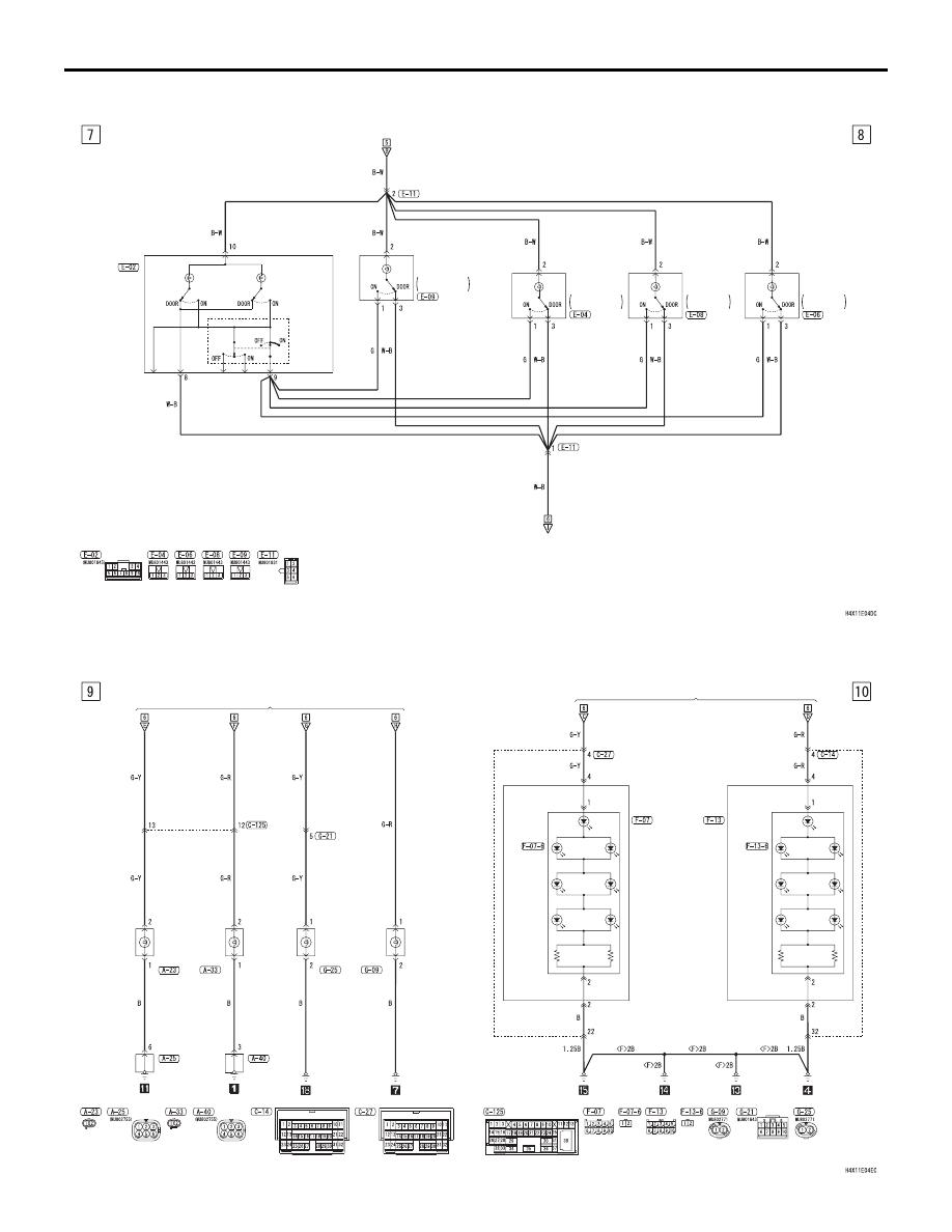 medium resolution of mitsubishi grandis manual part 449 mitsubishi shogun central locking wiring diagram mitsubishi central locking wiring diagram
