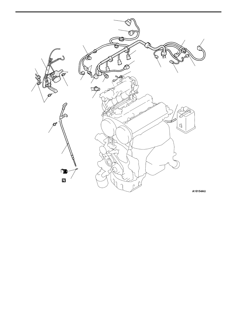 hight resolution of mitsubishi lancer engine part diagram