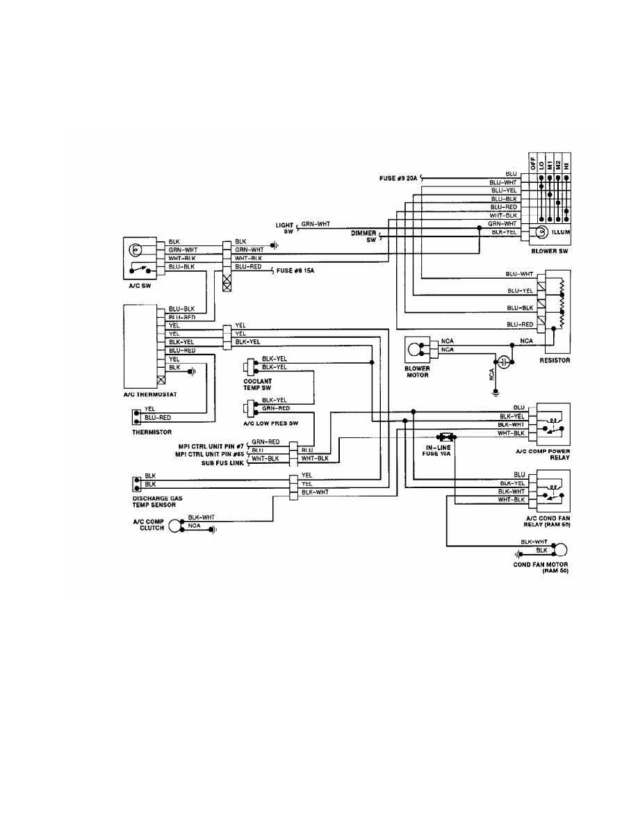 hight resolution of mitsubishi pajero clutch wiring diagram