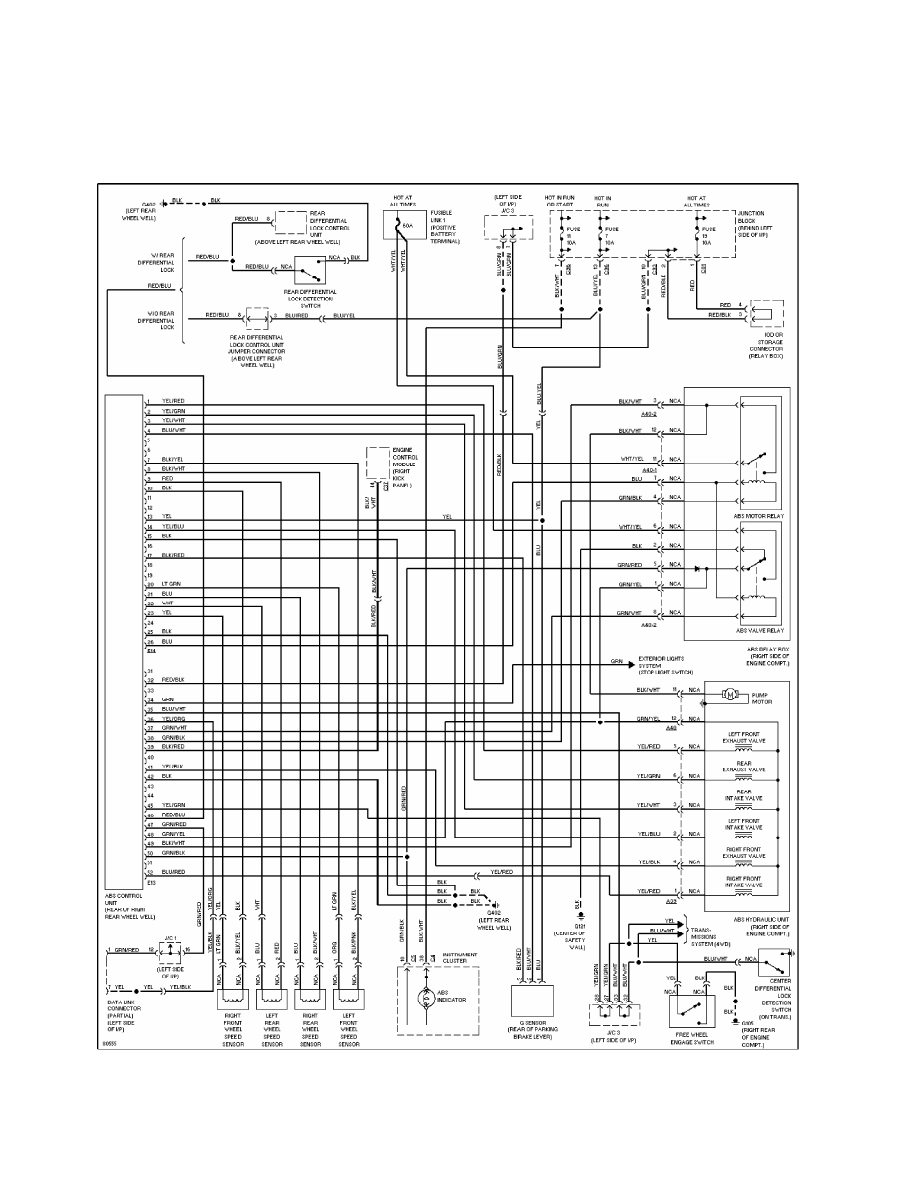 medium resolution of mitsubishi montero 1998 manual part 38 mitsubishi pajero automatic transmission hydraulic circuit diagram