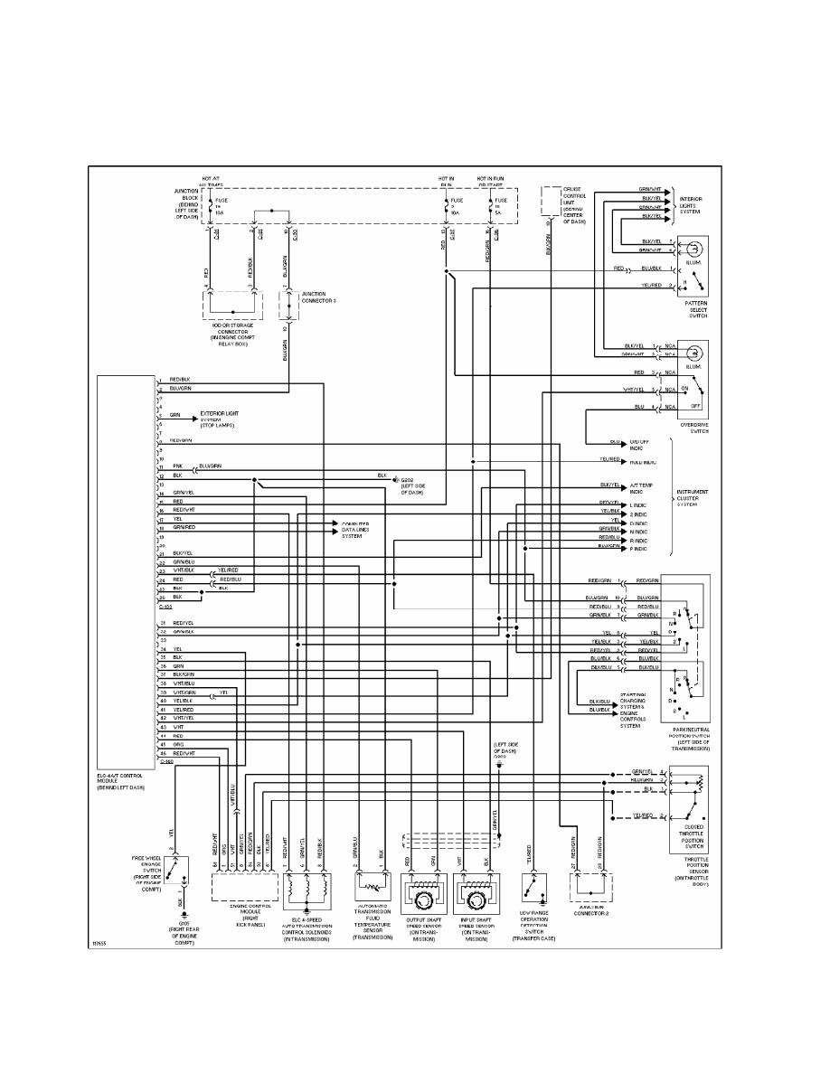 hight resolution of 16 transmission wiring diagram 1997 montero