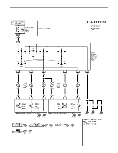 small resolution of wiring diagram mirror