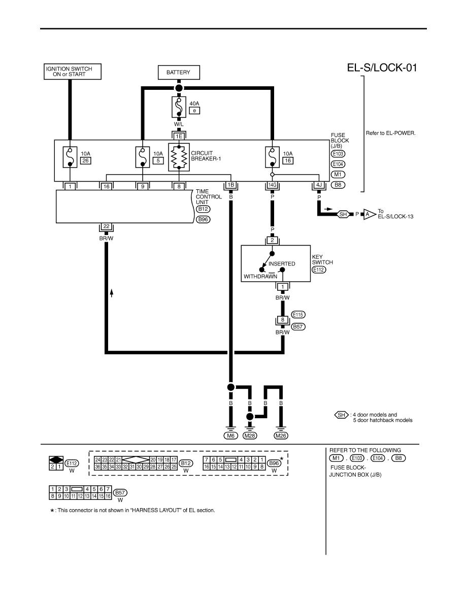 medium resolution of nissan primera p11 manual part 350 nissan primera central locking wiring diagram