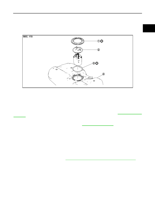 small resolution of fuel level sensor unit fuel filter and fuel pump assembly