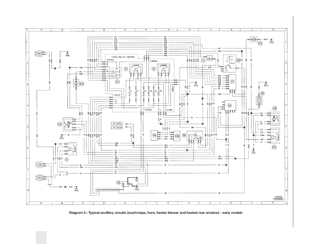 medium resolution of peugeot 405 wiring wiring diagram peugeot 405 wiring system