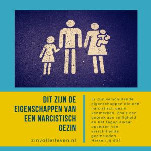 eigenschappen narcistisch gezin zinvollerleven.nl