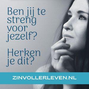 Ben jij te streng voor jezelf Herken je dit zinvollerleven.nl 2020