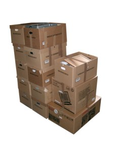 reduce stress while moving boxes
