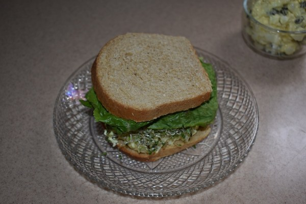 Vegetarian Chicken Sandwich