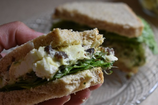 Vegetarian Chicken Salad Sandwich delicious looking