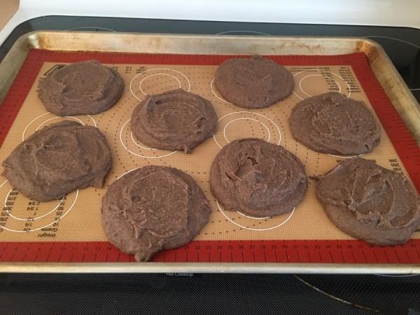 black bean burgers ready to bake