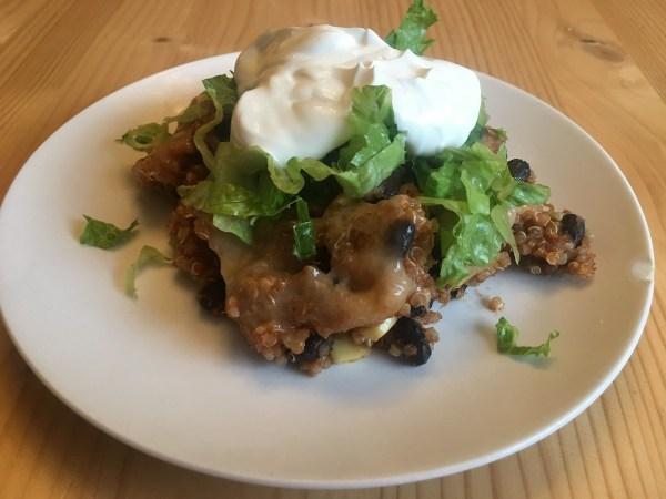 Quinoa Enchilada Casserole - main