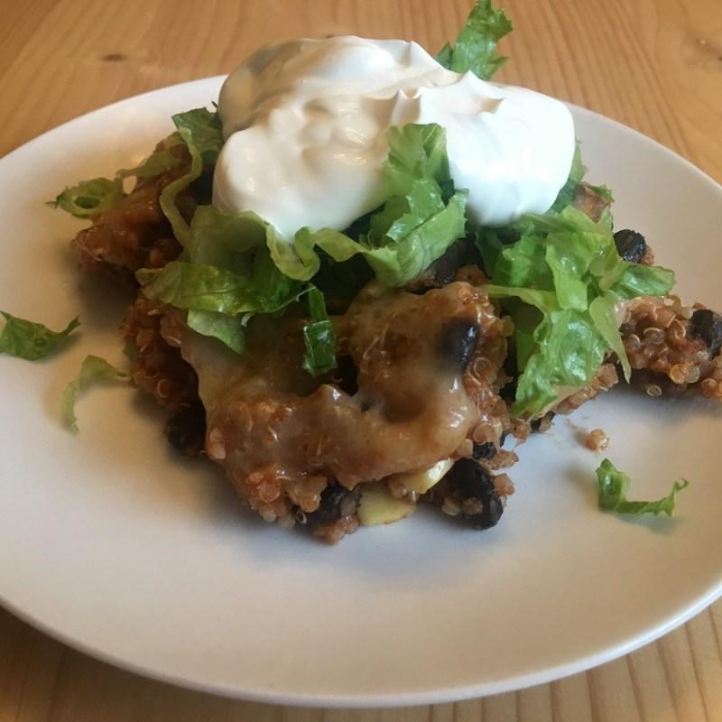 Quinoa Enchilada Casserole – Perfected!
