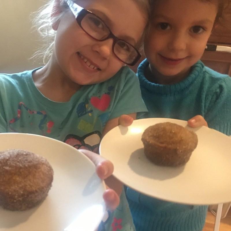 Cinnamon Sugar Donuts – Muffin Style
