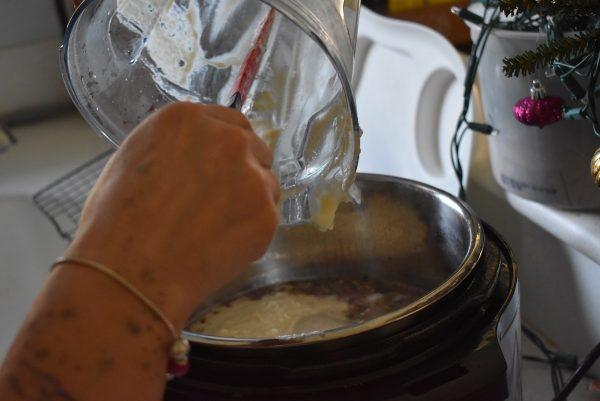 Faux Loaded Potato Soup 9