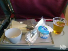 Royal Air Moroc - Snack time