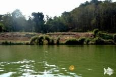 Nam Khan flows through Luang Prabang.