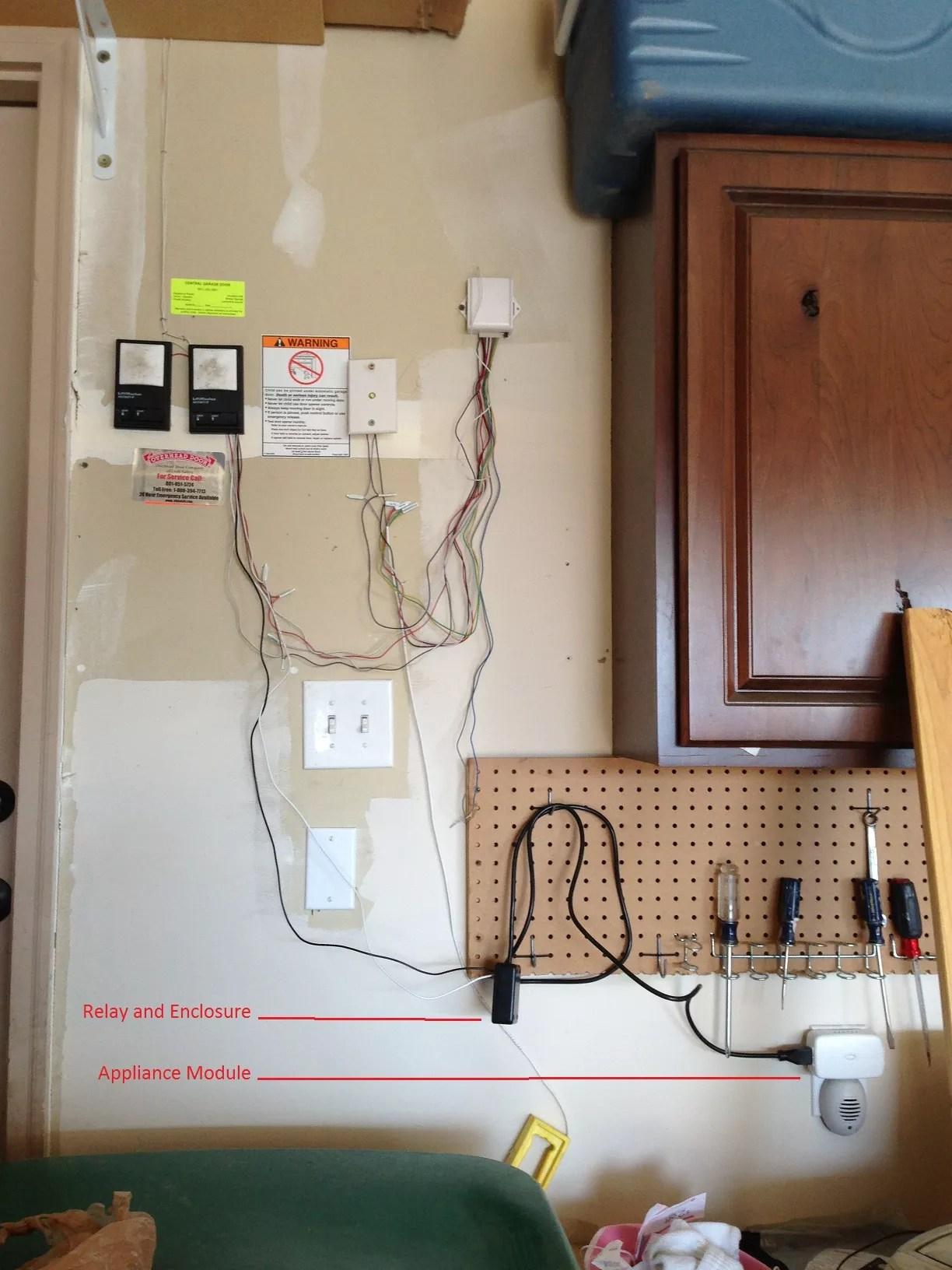 How to make an ADT Pulse Zwave Garage Door Opener using