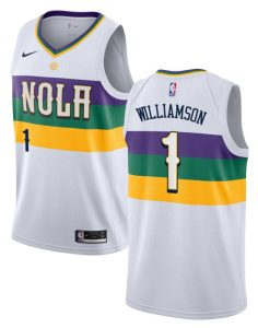 Zion Williamson NOLA Nike City Edition Uniform Image
