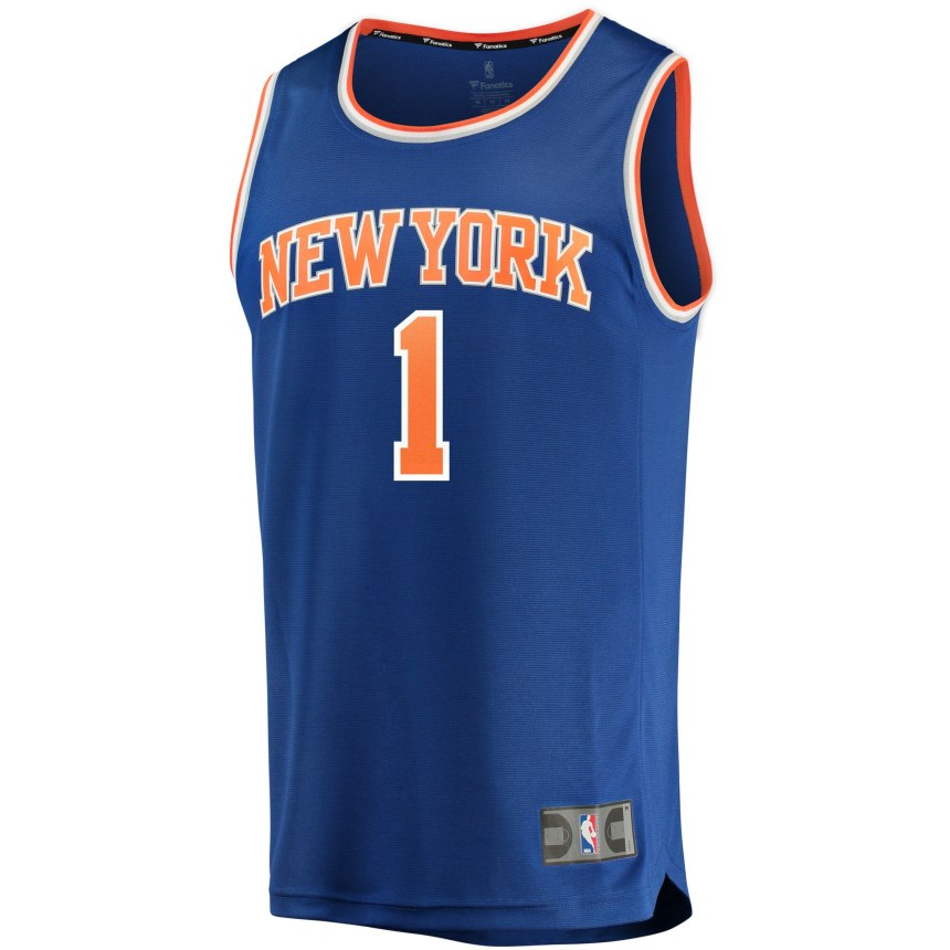 Zion Williamson New York Knicks Jersey Image