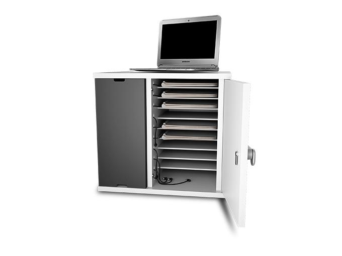 Chromebook laptop charging cabinet dock locker