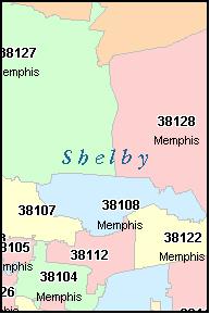 ZIP Code 38119 Map, Demographics, More for Memphis, TN