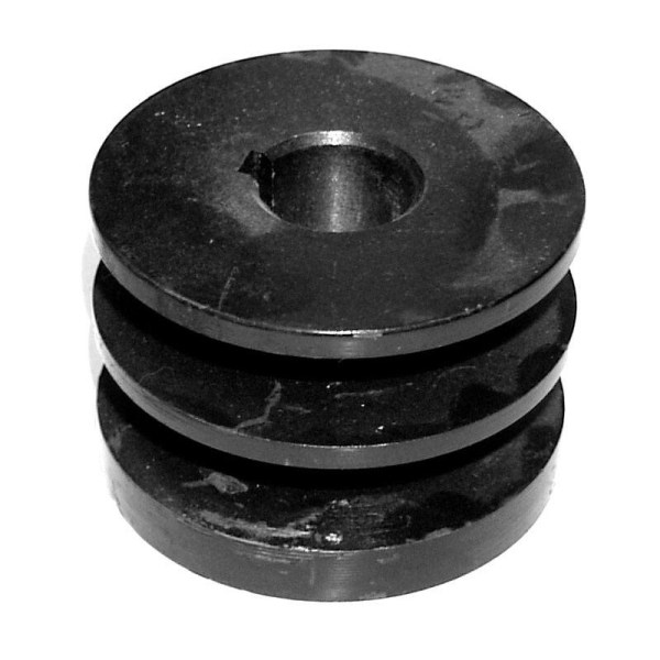 Шкив двигателя (⌀19мм) для МК Крот