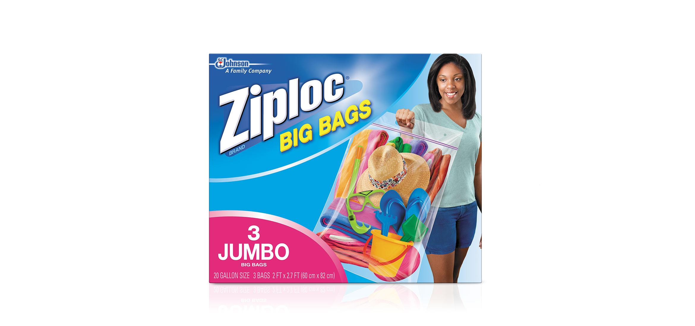 Jumbo Ziploc Big Bags