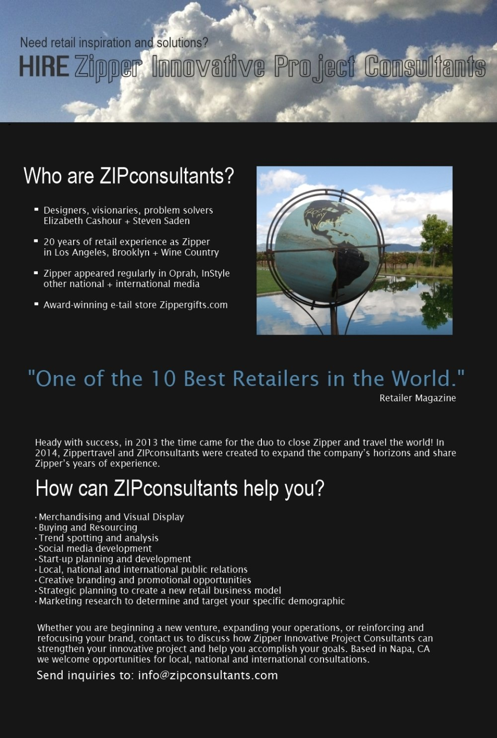 ZIP Consultants Hire Us
