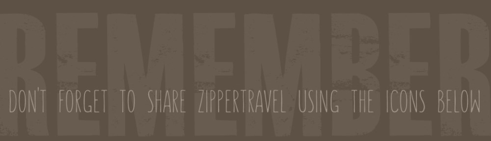 Remember to share Zippertravel.com