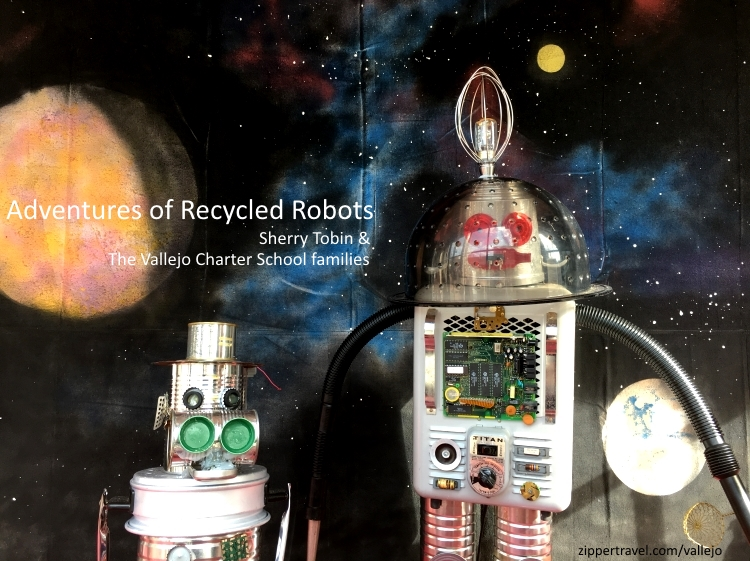sherry tobin adventures of recycled robots vallejo california