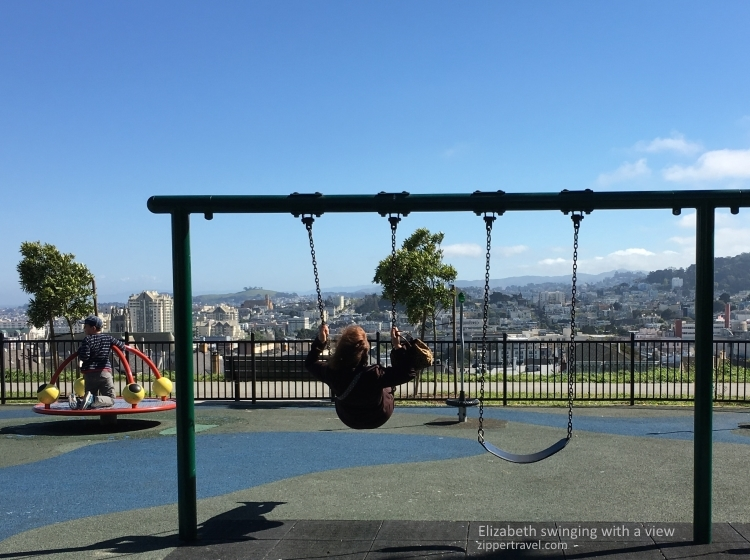 elizabeth cashour swinging alta plaza park pacific heights san francisco