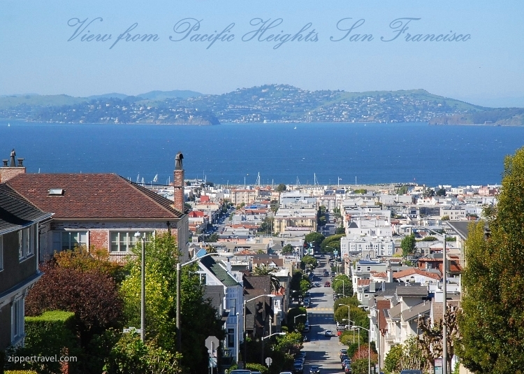 Pacific Heights San Francisco view