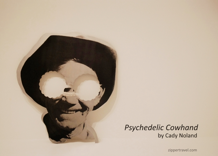 Cady Noland Psychedelic Cowhand SFMOMA