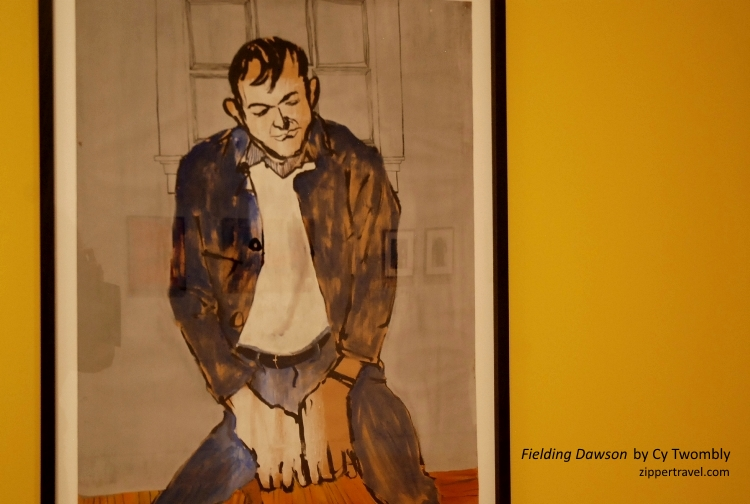 fielding dawson cy twombly painting hammer museum
