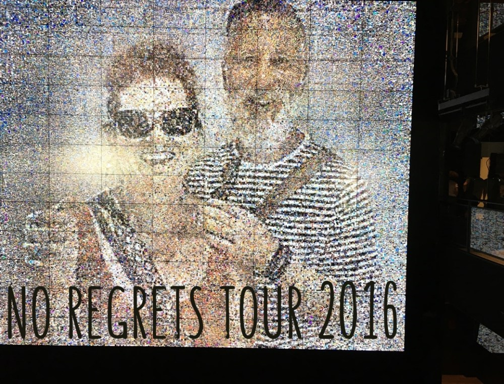 samsung instagram photo elizabeth cashour steven saden no regrets tour 2016