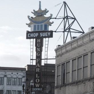 hung far low neon signage portland or