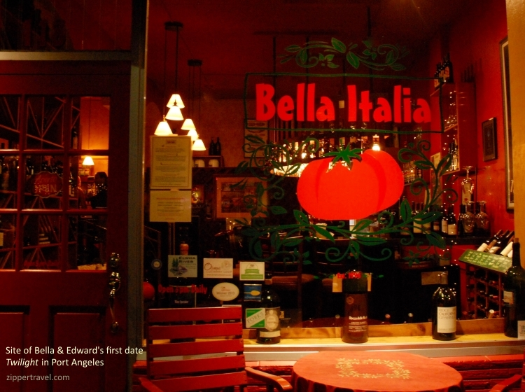 Bella Italia Rustica restaurant Port Angeles Washington