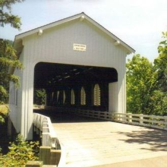 Dorena Bridge Cottage Grove Oregon